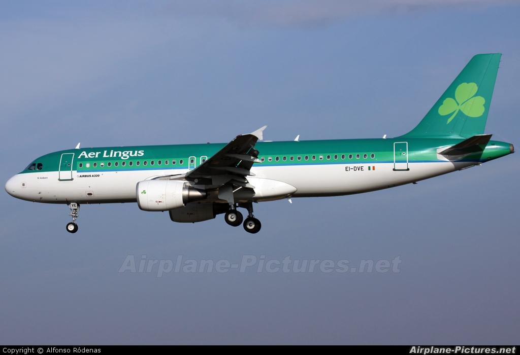 Aer Lingus EI-DVE aircraft at Barcelona - El Prat