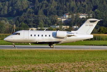 OH-MOL - Private Canadair CL-600 Challenger 604