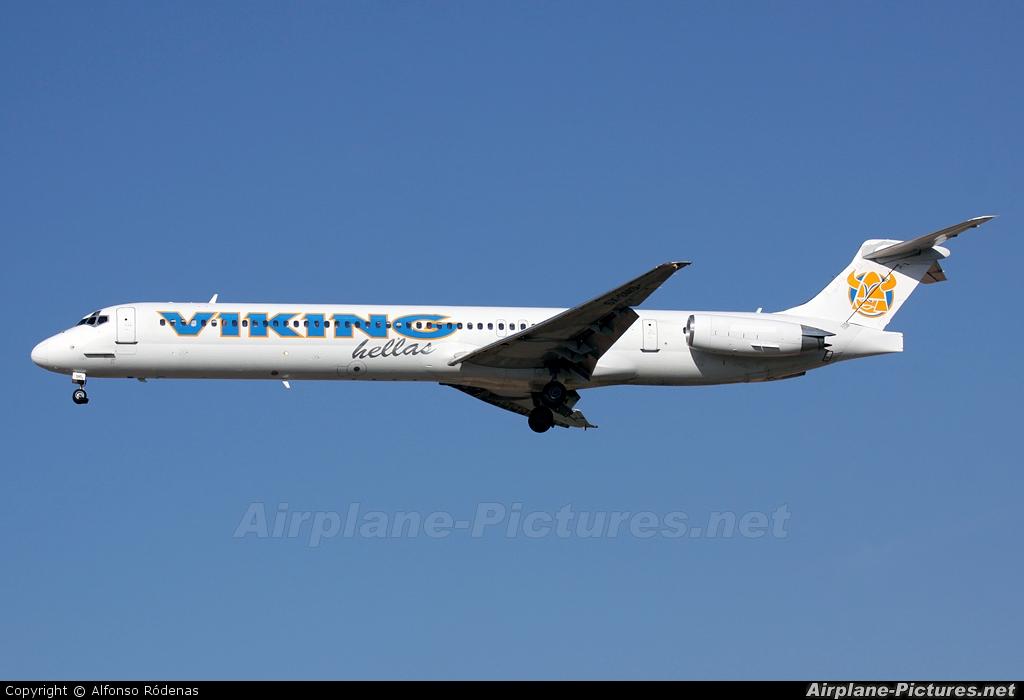 Viking Airlines SX-SMS aircraft at Barcelona - El Prat