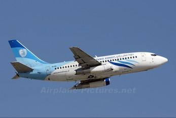 YA-PIR - Pamir Airways Boeing 737-200