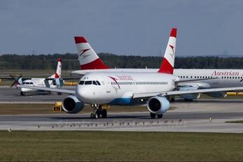 OE-LBT - Austrian Airlines/Arrows/Tyrolean Airbus A320