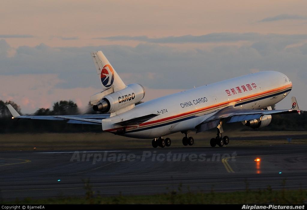 China Cargo B-2174 aircraft at Copenhagen Kastrup