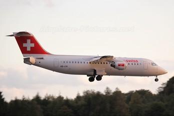 HB-IYR - Swiss British Aerospace BAe 146-300/Avro RJ100
