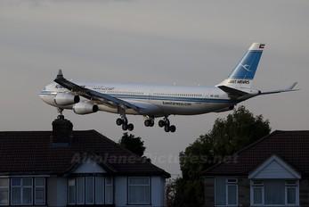 9K-ANC - Kuwait Airways Airbus A340-300