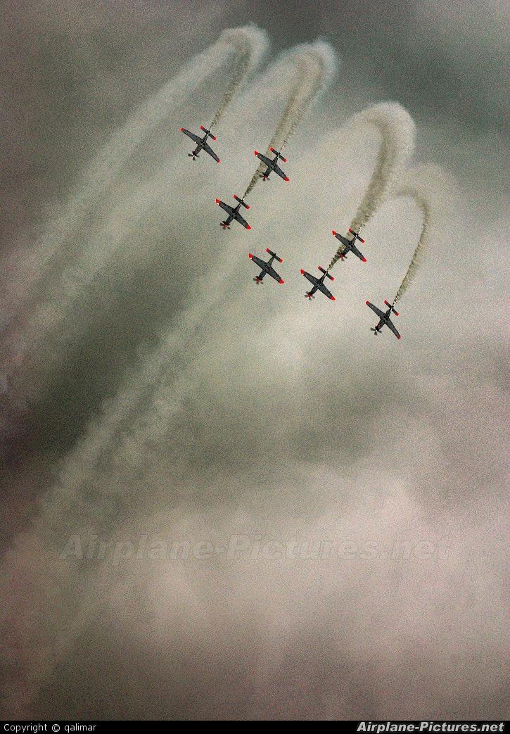 "Poland - Air Force ""Orlik Acrobatic Group"" - aircraft at Radom - Sadków"