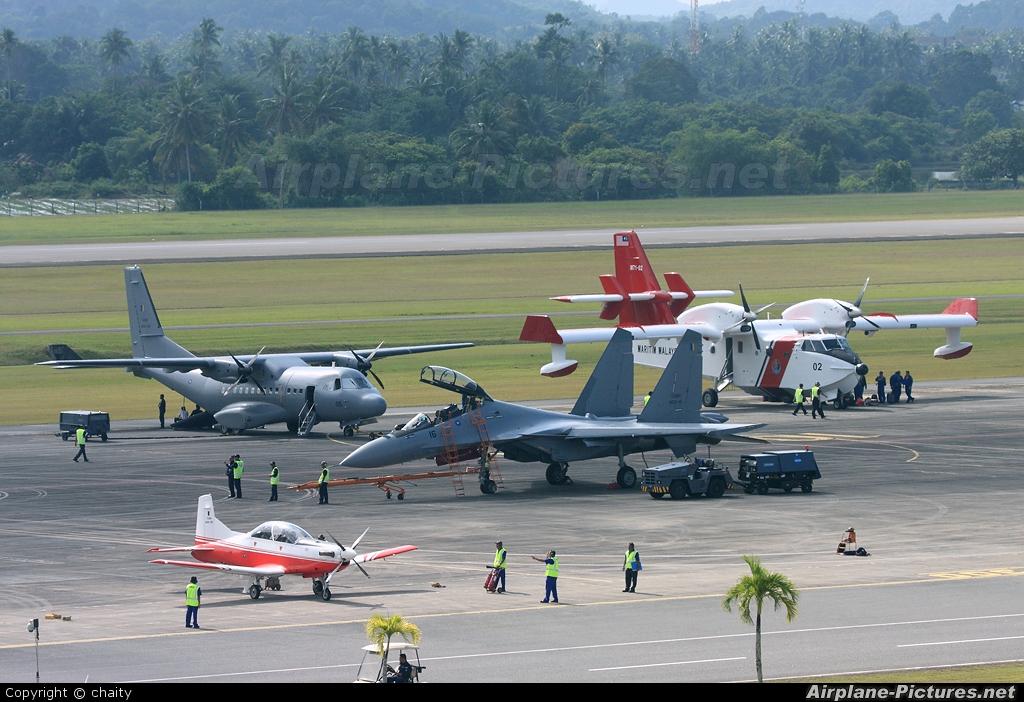 Malaysia - Air Force M50-09 aircraft at Langkawi