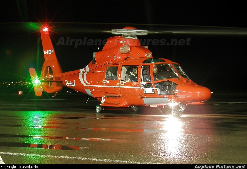 Bond Air Services G-REDF aircraft at Dundee