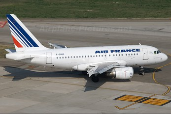 F-GUGG - Air France Airbus A318