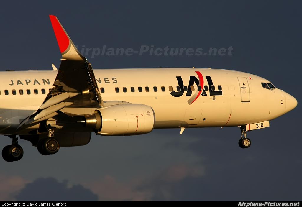 JAL - Japan Airlines JA310J aircraft at Tokyo - Narita Intl