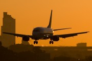 LV-AYE - Aerolineas Argentinas Boeing 737-500 aircraft