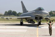 MM7273 - Italy - Air Force Eurofighter Typhoon S aircraft