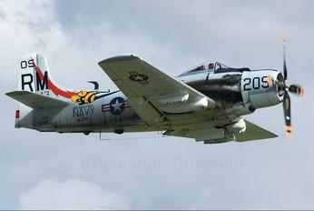 F-AZDP - Amicale Jean Salis Douglas AD-4N Skyraider