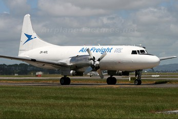 ZK-KFL - Air Freight NZ Convair CV-580