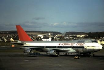 N602US - Northwest Orient Boeing 747-100