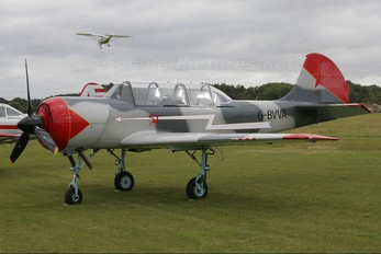 G-BVVA - Private Bacau Yak-52