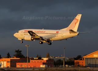 TS-IOG - Tunisair Boeing 737-500