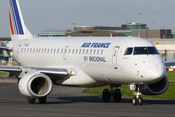 F-HBLH - Air France - Regional Embraer ERJ-190 (190-100)