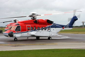OY-HKA - CHC Denmark Sikorsky S-92