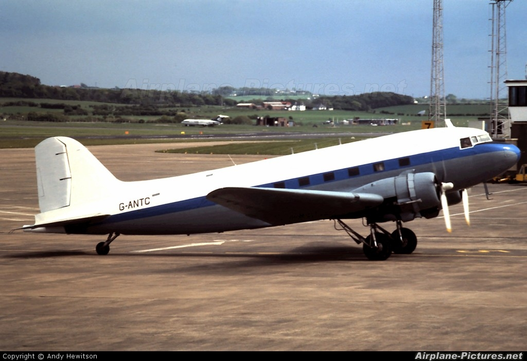 Aces High G-ANTC aircraft at Prestwick