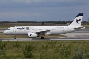 EP-IEA - Iran Air Airbus A320