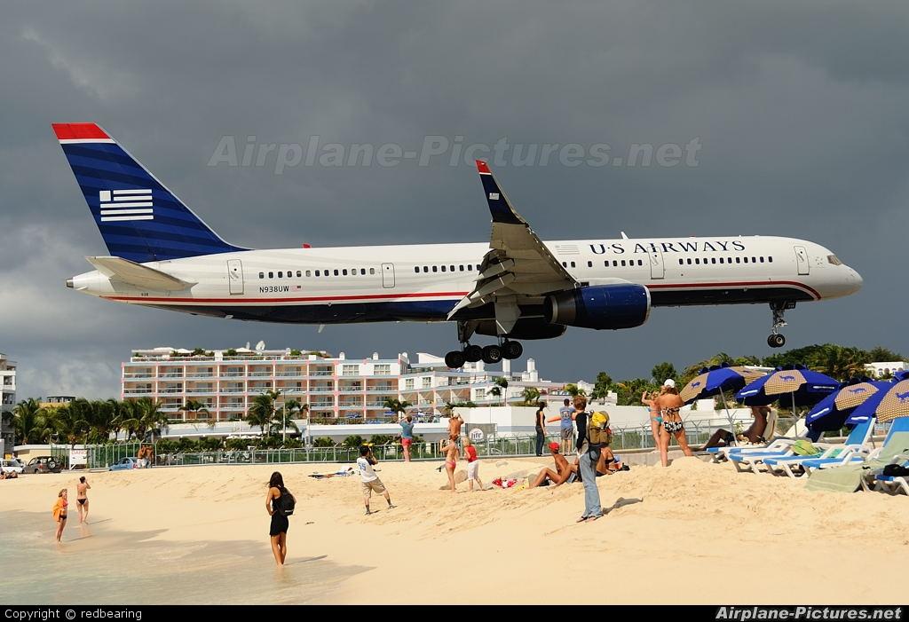 US Airways N938UW aircraft at Sint Maarten - Princess Juliana Intl