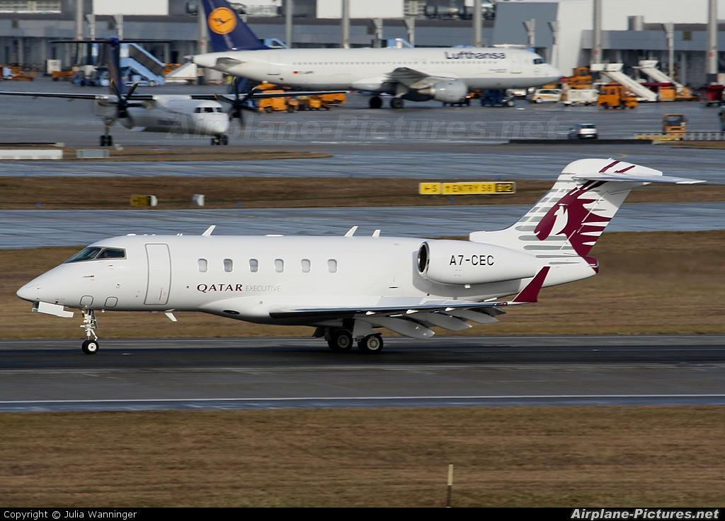 Qatar Executive A7-CEC aircraft at Munich