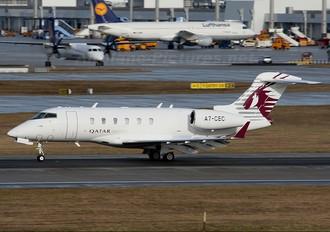 A7-CEC - Qatar Executive Bombardier BD-100 Challenger 300 series