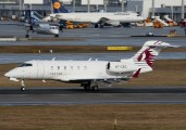 A7-CEC - Qatar Executive Bombardier BD-100 Challenger 300 series aircraft