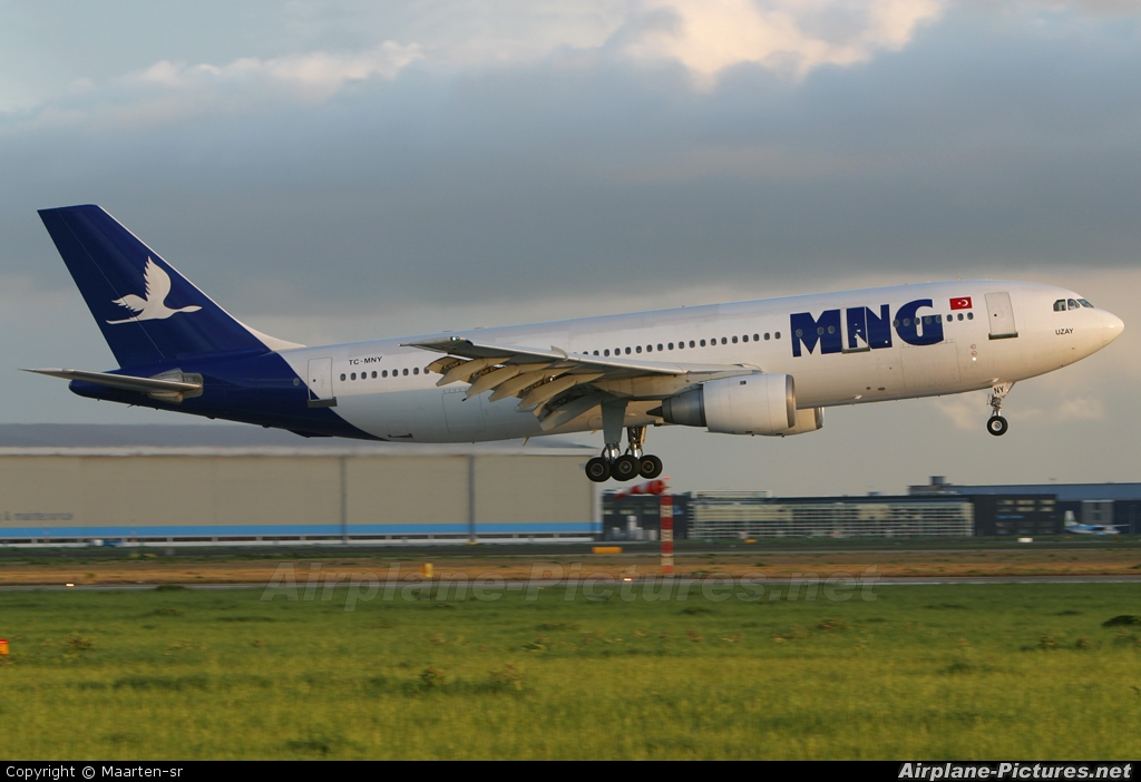 MNG Airlines TC-MNY aircraft at Amsterdam - Schiphol
