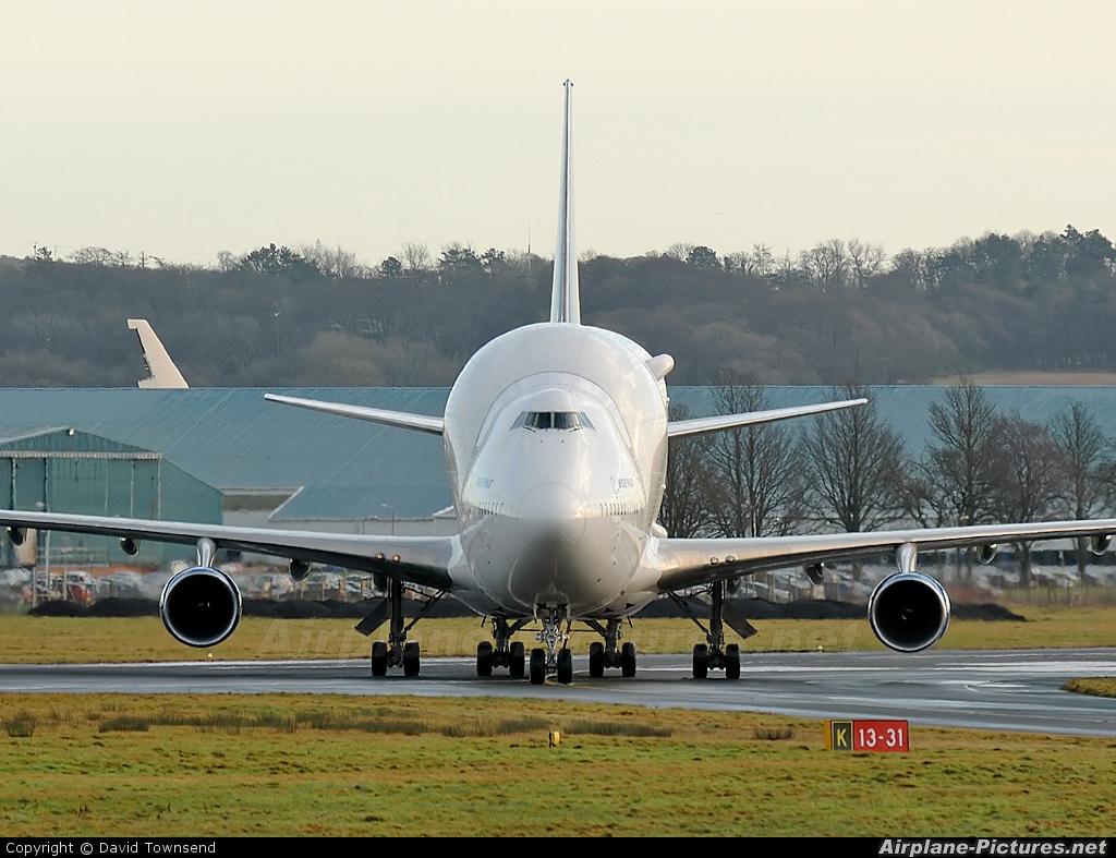 Boeing Company N249BA aircraft at Prestwick