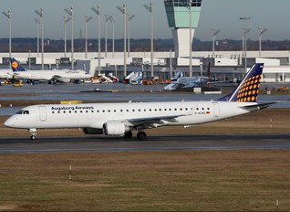 D-AEMD - Augsburg Airways - Lufthansa Regional Embraer ERJ-190 (190-100)