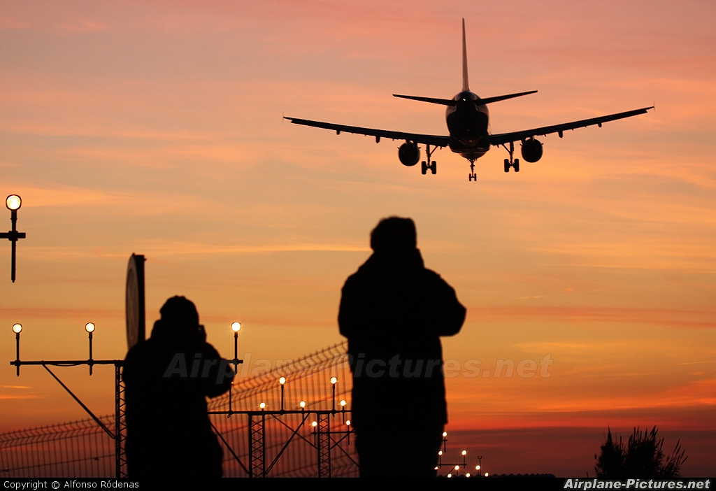 Vueling Airlines EC-KRH aircraft at Barcelona - El Prat
