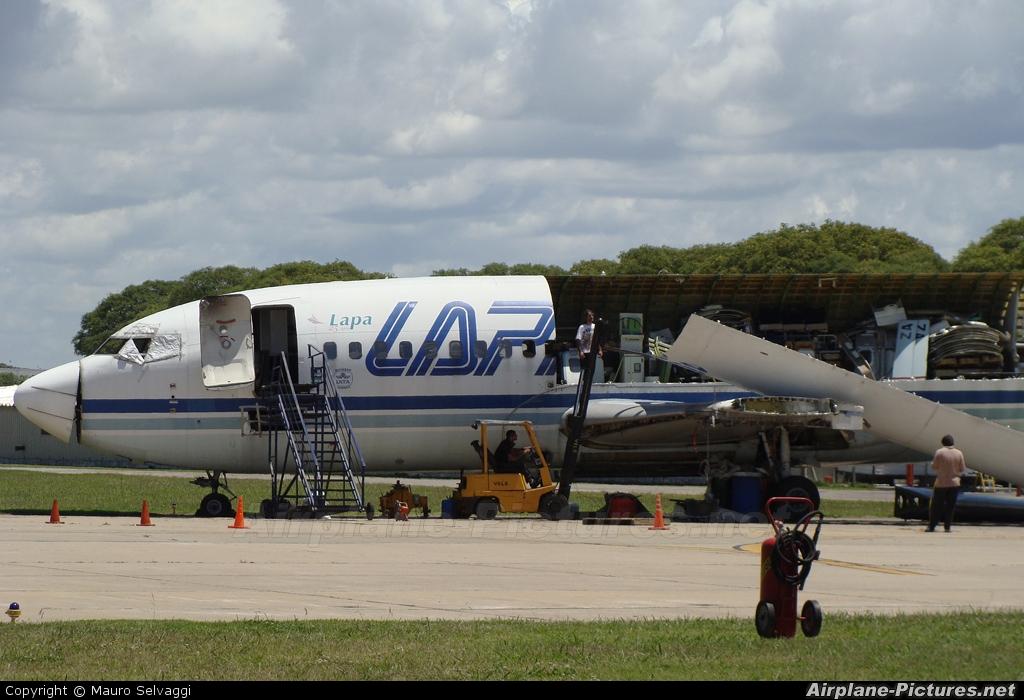 LAPA LV-YZA aircraft at Buenos Aires - Jorge Newbery