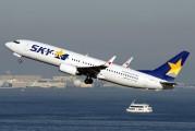 JA737Q - Skymark Airlines Boeing 737-800 aircraft