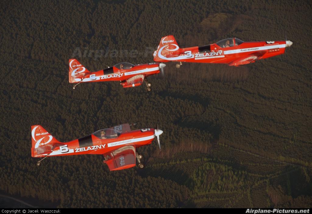 Grupa Akrobacyjna Żelazny - Acrobatic Group SP-AUA aircraft at In Flight - Poland
