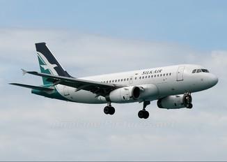 9V-SBA - SilkAir Airbus A319