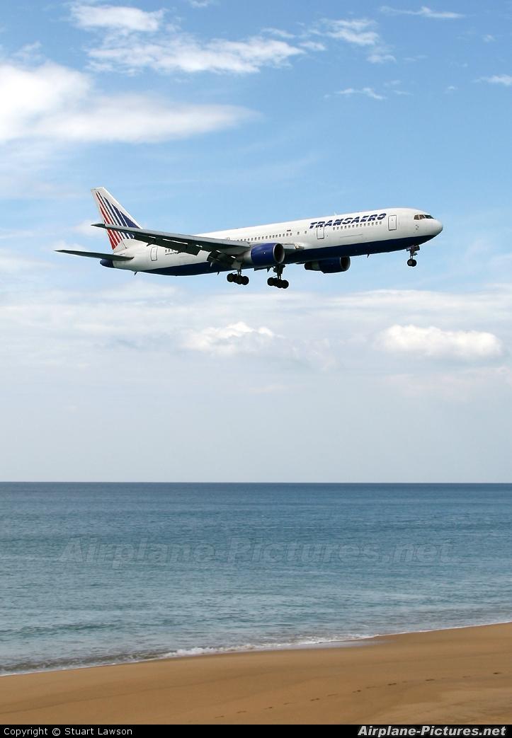 Transaero Airlines EI-DFS aircraft at Phuket