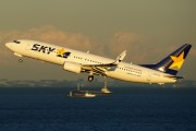 JA737X - Skymark Airlines Boeing 737-800 aircraft