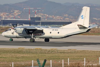 UR-MDA - Meridian Airlines Antonov An-26 (all models)