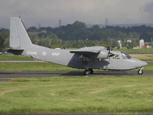 ZG846 - British Army Britten-Norman BN-2T Islander AL.1