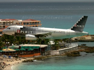 N525NK - Spirit Airlines Airbus A319
