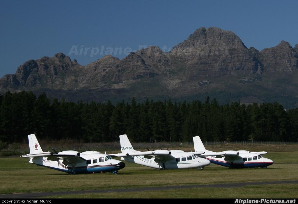 Private ZS-NJU aircraft at Stellenbosch