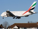 A6-EDC - Emirates Airlines Airbus A380 aircraft