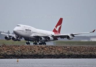 VH-OJQ - QANTAS Boeing 747-400