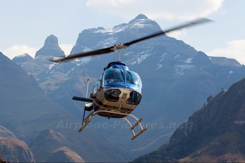 ZS-RHN - Private Bell 206B Jetranger