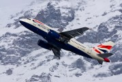 G-EUOB - British Airways Airbus A319 aircraft