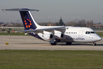 OO-DJO - Brussels Airlines British Aerospace BAe 146-200/Avro RJ85