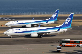 JA58AN - ANA/ANK - Air Nippon Boeing 737-800