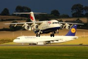 G-BZAZ - British Airways British Aerospace BAe 146-300/Avro RJ100 aircraft