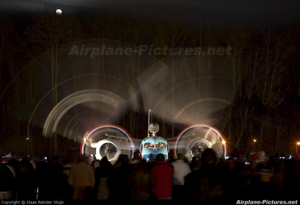 KLM 151 aircraft at Lelystad